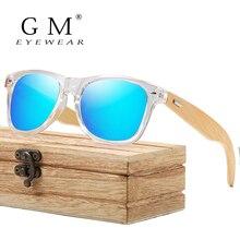GM деревянные солнцезащитные очки Мужские Женские Бамбуковые мужские и женские солнцезащитные очки для путешествия солнцезащитные очки винтажные деревянные очки с дужками