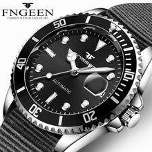 FNGEEN 2020 Men Wristwatch Famous Brand Luxury Full Steel Mechanical Watches Tourbillon Male Automatic Watch Clock Relogio Mascu
