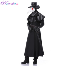 Halloween Cosplay Plague Doctor Costume Party  Hero Dungeon Stage Performance Clothing