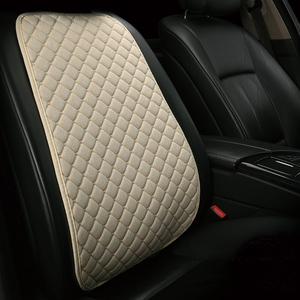Image 2 - Automobile Seat Backrest Cushion Pad Mat for Auto Front Car Seat Cover Car Styling Interior Accessories Universal Protector