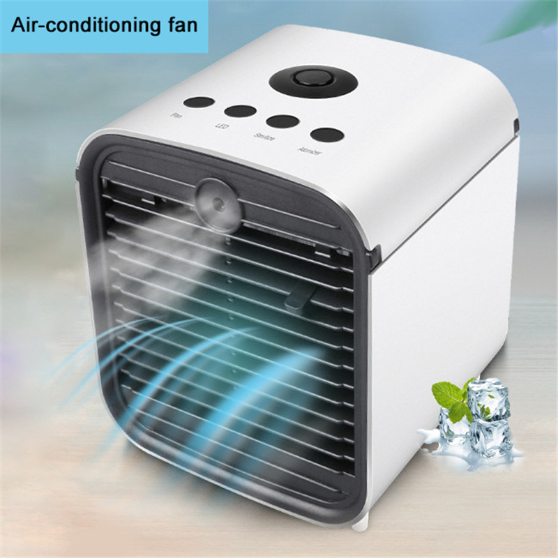 Portable Mini Air Conditioner Fan Desktop Air Conditioning Cooler Home Office Desk Air Conditioning