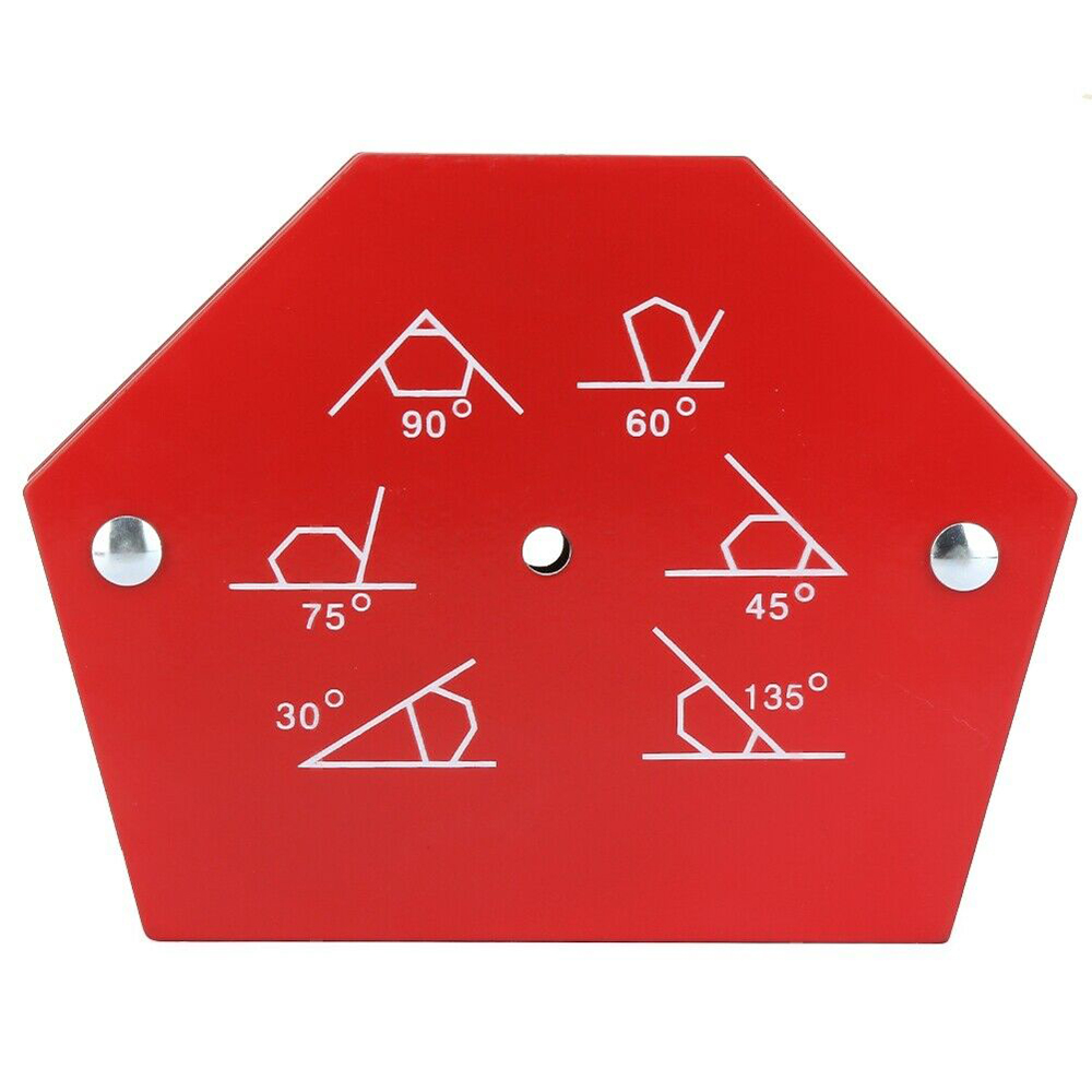 50LBS Soldering Locator Hexagon Welding Positioner Heavy Duty Magnetic Welding Magnets Holder Welding Tool Accessories