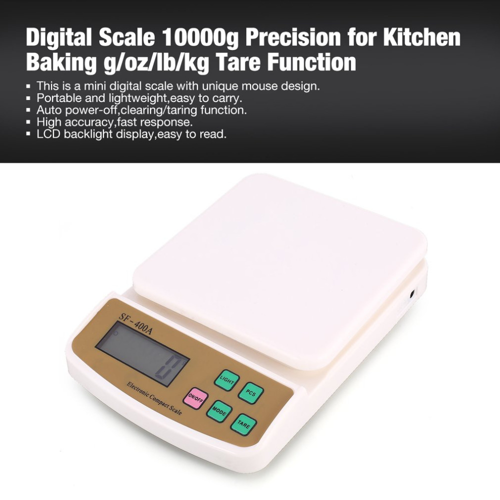 Scale 10000g Precision G Oz Lb Kg