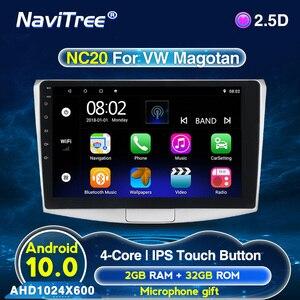 10inch IPS 2.5D Android 2G+32G Car Radio Multimedia For Volkswagen VW Passat B6 B7 CC Magotan 2011-2015 WIFI bluetooth FM(China)