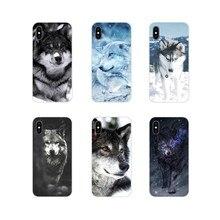 Роскошные Чехлы Wolf on Snow для Huawei Honor 4C 5C 6X 7 7A 7C 8 9 10 8C 8S 8X 9X 10I 20 Lite Pro, аксессуары, чехлы для телефонов(China)