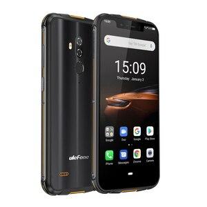 Image 4 - טביעת אצבע מזהה Ulefone שריון 5S IP68 5000mAH אנדרואיד 9.0 גלובלי גרסת אוקטה Core אנדרואיד 9.0 אלחוטי תשלום 4G smartphone