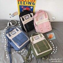 New Trend Female Backpack Fashion Casual Women Backpack Waterproof Nylon School Bags Teenage Girl Shoulder Bags Female