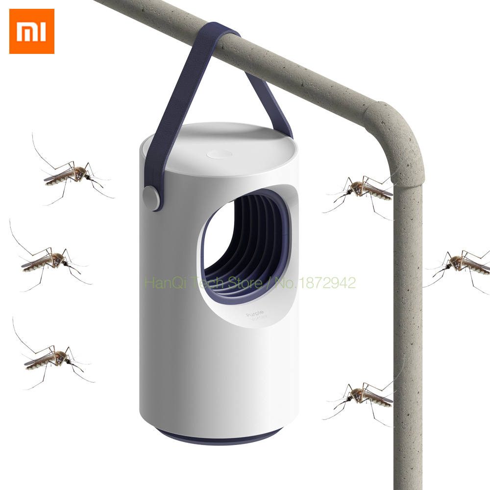 Original Xiaomi Smart Home Mosquito Repellent Automatic Photocatalyst Mosquito Killer Low Mute Blue Mosquito Mosquito Lamp|Smart Remote Control| |  - title=