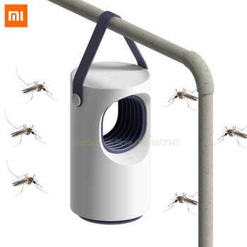 Original Xiaomi inteligente casa Mosquito repelente de fotocatalizador Mosquito asesino bajo mudo azul Mosquito de la lámpara