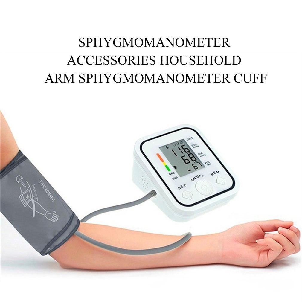 New Portable 22-32 CM Arm Cuff Digital Blood Pressure MonitorPortable Single Tube Tonometer Cuff For Sphygmomanometer 2019