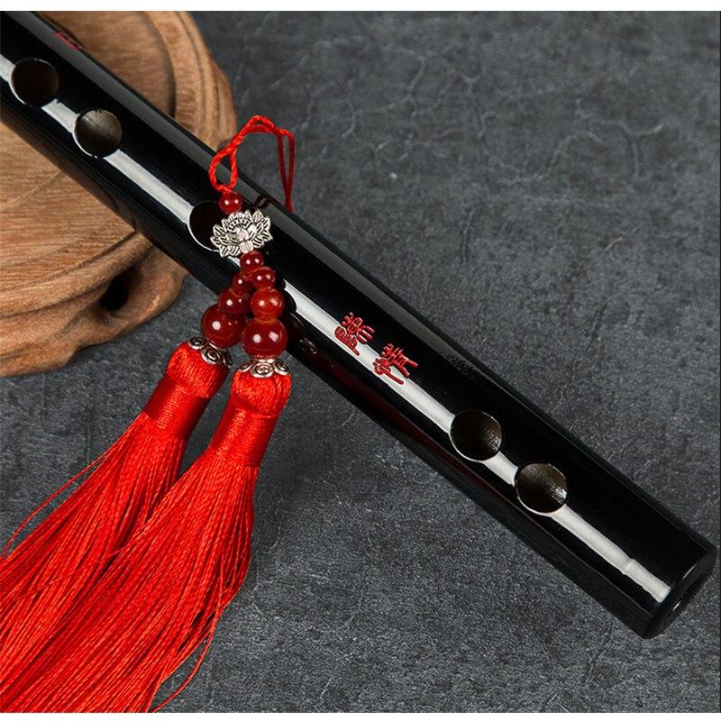 Professional Bamboo Flute For Children Adult  Transverse Dizi Flute Musical Instruments Wooden Flute Dizi Kit