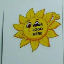 """Etiqueta adhesiva de estampado de hoja de oro de 5x3 """"personalizada"""