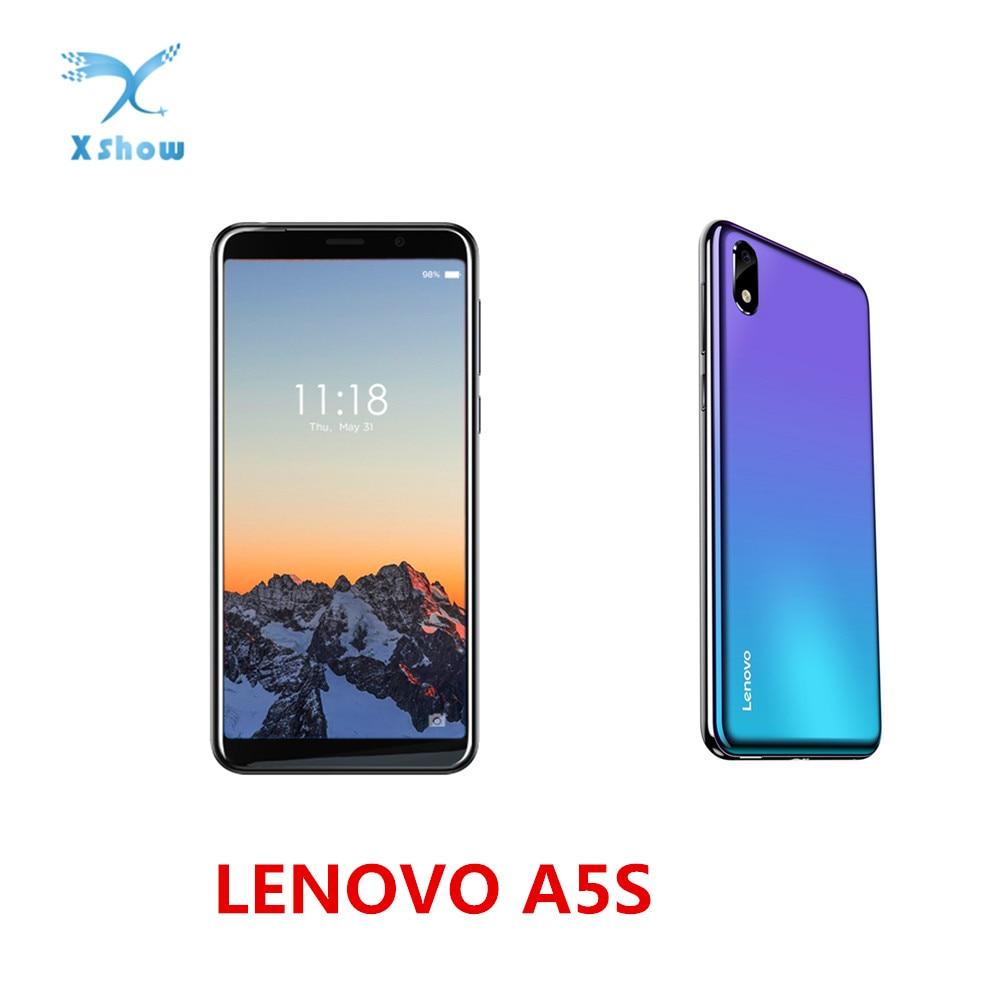 Global Versie Lenovo A5s 5.45 Inch HD 18:9 Scherm 2GB 16GB MT6761 13MP Camera Smartphone 3000mAh Gezicht unlock Telefoon-in Mobiele Telefoons van Mobiele telefoons & telecommunicatie op AliExpress - 11.11_Dubbel 11Vrijgezellendag 1
