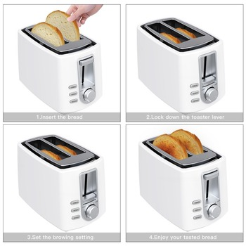 European Toaster Kitchen Gadget Vertical Toaster 5