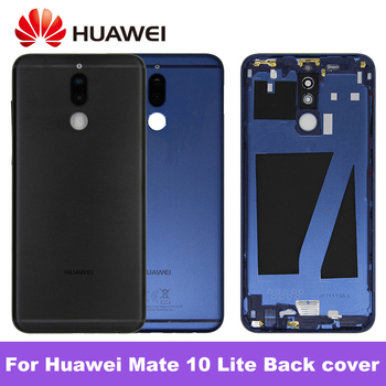 For Huawei Mate 10 Lite Battery Cover Back Housing For Huawei Nova 2i Rear Door Case RNE L21 Mate 10 Lite Battery Cover Replace