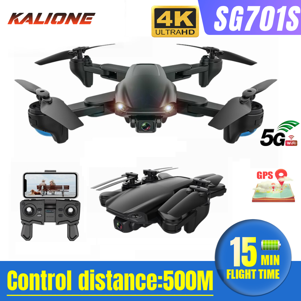 SG701  SG701S GPS Drone with camera 4k HD 5G WIFI FPV  RC quadcopter remote control helicopter drones Optical Flow Dron  VS S167
