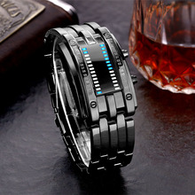 אופנה גברים LED שעון חכם שינה Tracker פדומטר 30M Waterproof ספורט שעונים אוהבי דיגיטלי שעוני יד GK99