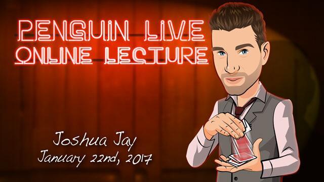 Joshua Jay Penguin Live ACT2 MAGIC TRICKS
