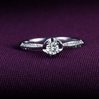 A Carat 18k Gold And White Gold Diamond Ring Platinum Gold Gold Wedding Marriage Couple On The Ring 1