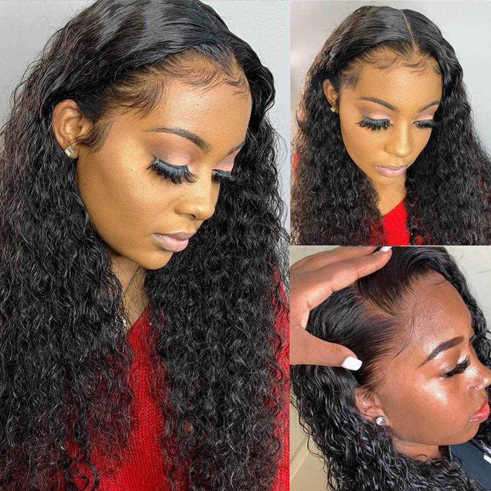 360 Deep Wave Lace Front  Wigs 180 Density   Lace Wig With Baby Hair PrePlucked  Arabella 5