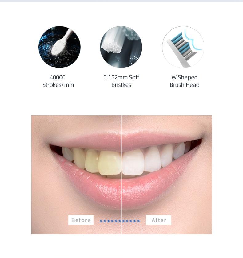 электрическая зубная щетка seago sonic sg-551