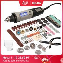 HILDA электрическая мини дрель, Электрические инструменты, дрель с 6 режимами работы, 400W