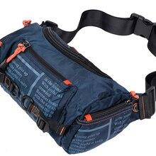 Высококачественная Водонепроницаемая оксфордская Мужская поясная сумка на ремне, сумка-мессенджер, Большая вместительная сумка для путешествий, нагрудные поясные сумки