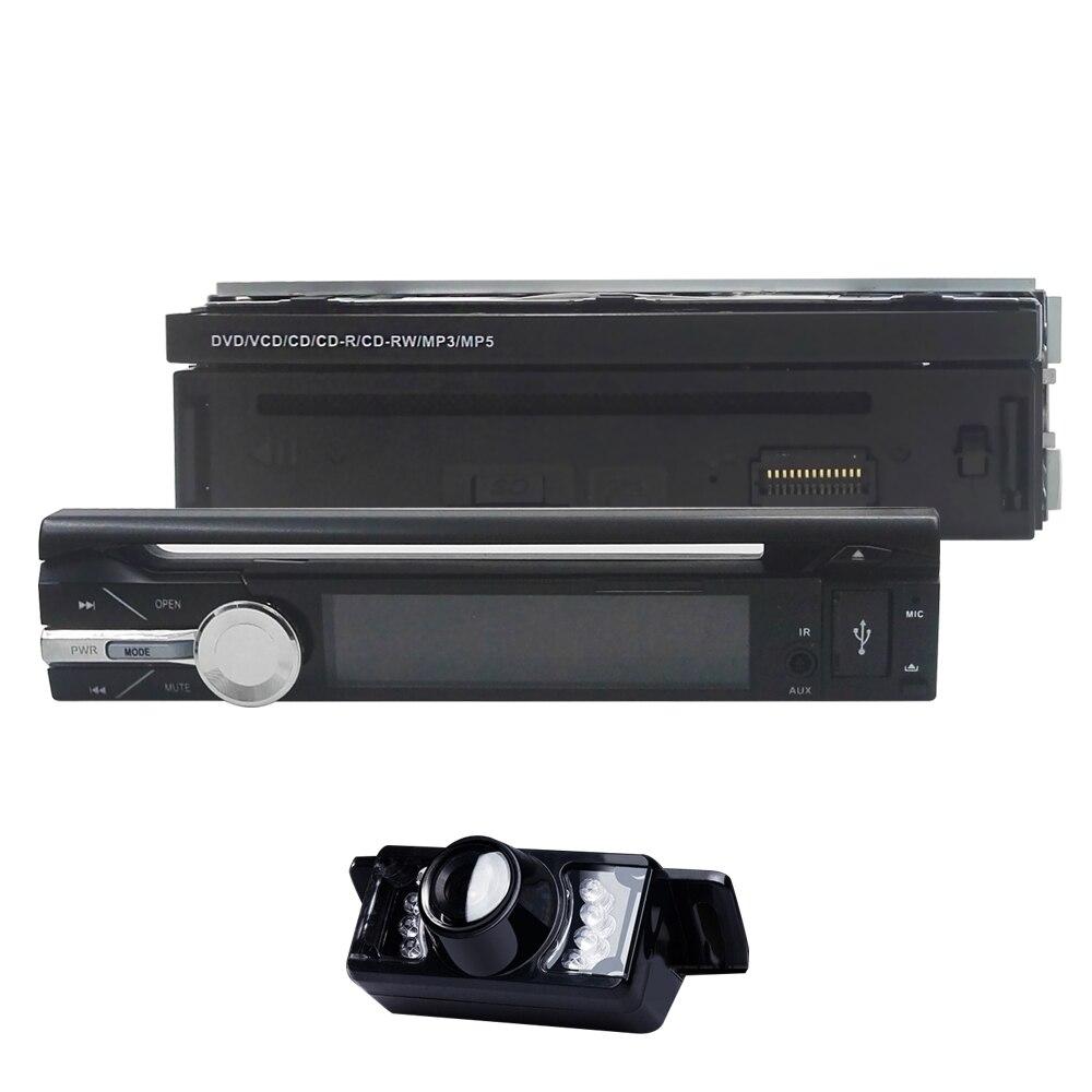 7 pouces 1 Din Android 9.0 2GB + 16GB universel 1080P voiture lecteur DVD numérique écran tactile voiture lecteur multimédia DAB + DVR OBD2 caméra gratuite