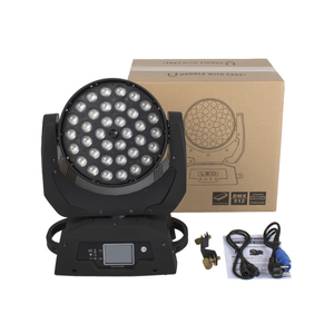 Image 5 - משלוח מהיר LED לשטוף זום הזזת ראש אור 36x18W RGBWA + UV 6IN1 מגע מסך נבל 36x12W DMX 18 ערוצים DJ דיסקו המפלגה בר