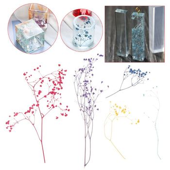 1 Box Filling Flower Dry Handmade Flowers DIY Epoxy Resin Filler Crafts Silicone Molds Tools Crystal UV Accessories Decoration 40pcs blue color organza ribbon flowers handmade flowers apparel sewing accessories wedding decoration crafts a560