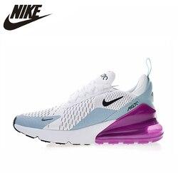 Оригинальные аутентичные NIKE Air Max 270 женские кроссовки для бега спортивные уличные кроссовки удобные дышащие AH6789-004