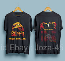 Sum 41 Order In Decline Tour 2019 with Dates Men's Black T-Shirt Size : S-3XL T Shirt Gift More Size top tee все цены