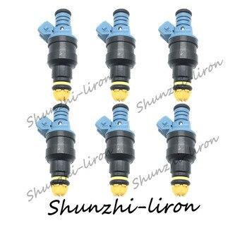 6PCS 0280150715 13641734776 fuel injector for BMW 325I 1987~1991 325IS 1989~1990 325IX 1988~1991 525I 1989~1990 2.5L L6