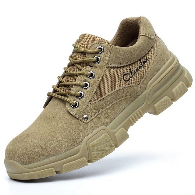 Men Work Shoes High