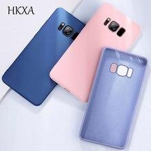 For Samsung Galaxy S8 S9 S10 E Plus Case Cover Liquid Soft Silicone Back Cover For Samsung Galaxy Note10 10Plus 9 8 Cases Phone