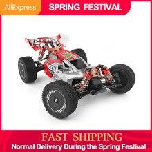 WLtoys 144001 2.4G wyścigi RC samochód konkurs 60 km/h metalowa obudowa 4wd elektryczny RC formuła samochód zabawki zdalnie sterowane dla dzieci