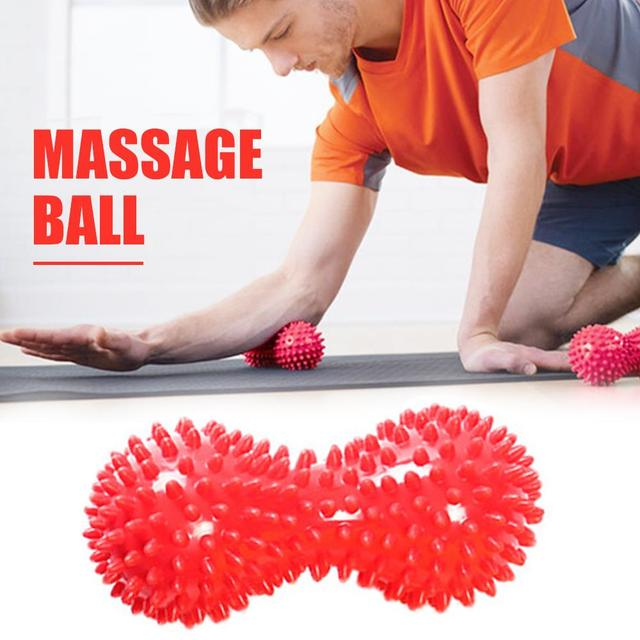 Mini Peanut Massage Ball Durable Random PVC Activating Collaterals Recovery Elderly Reflexology Relaxation Senile Dementia