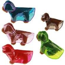 Rain-Coats Hoody Waterproof-Jackets Pet Dogs Transparent PU Outdoor for Cats S-XL Sale