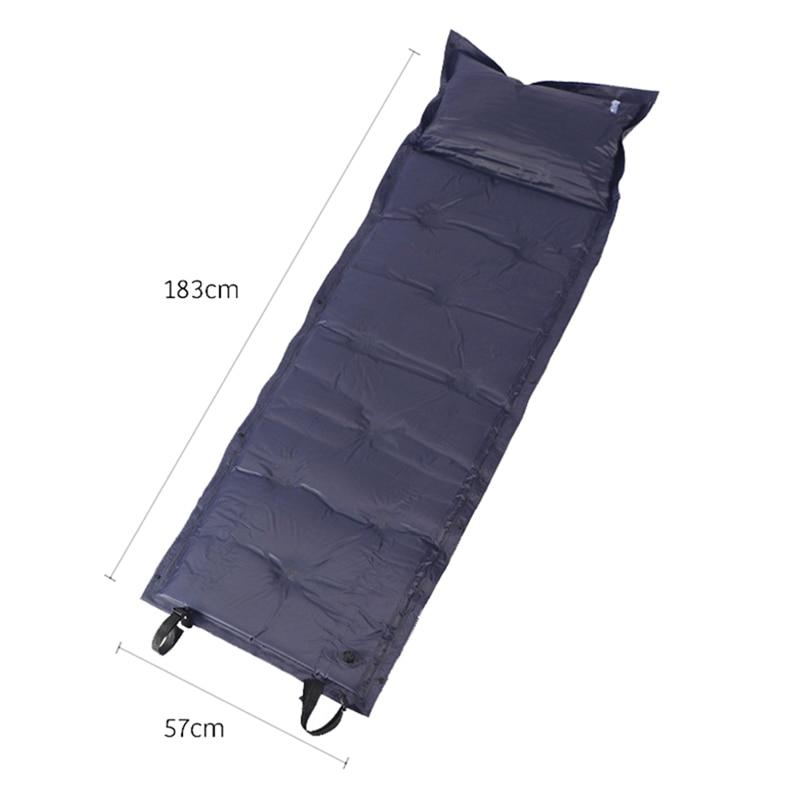 engrossar dormir cama esteira para mochila viagem