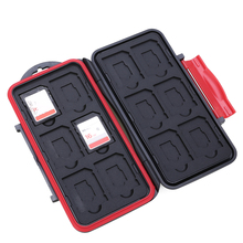 Internal Storage Card Case 12 Slots SD/TF Cards Protective B