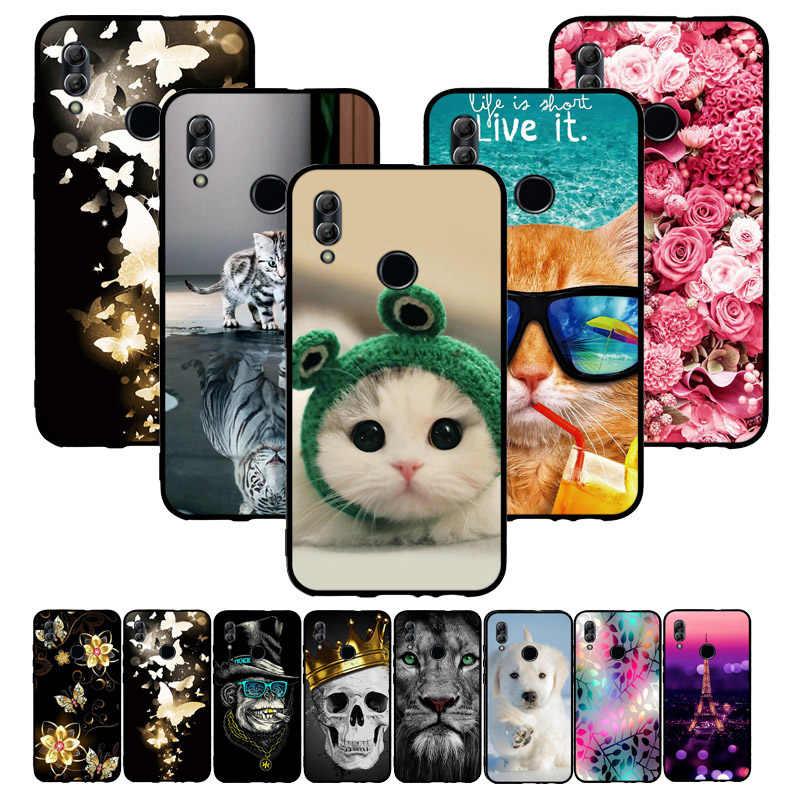 Huawei 社の名誉 10 Lite のケースカバーソフトシリコン薄型 Tpu バックカバー Fundas ため P スマート 2019 POT-LX3 POT-LX1 電話ケース