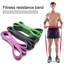 Sports Unisex Fitness Rubber Resistance Bands Yoga Band Pilates Elastic Loop Cro