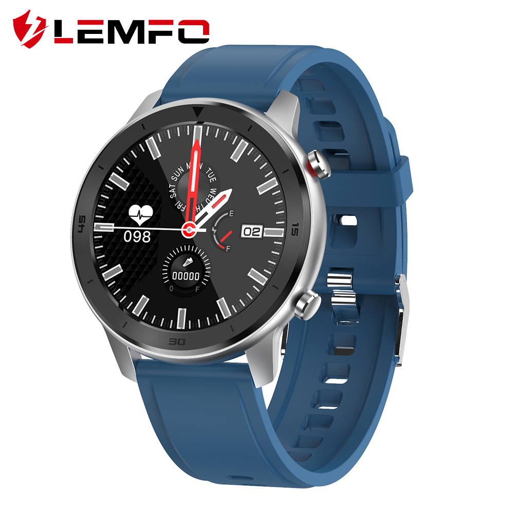 LEMFO Smart Watch Men Business Sports Tracker Health Full Touch Screen Heart Rate Blood Pressure Waterproof Smart Watch Men|Smart Watches|   - AliExpress