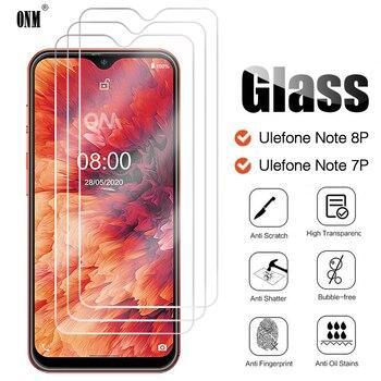 Перейти на Алиэкспресс и купить 3 шт. закаленное стекло для Ulefone Note 8P 7P Защита экрана для Ulefone Note 8P Защитная стеклянная пленка