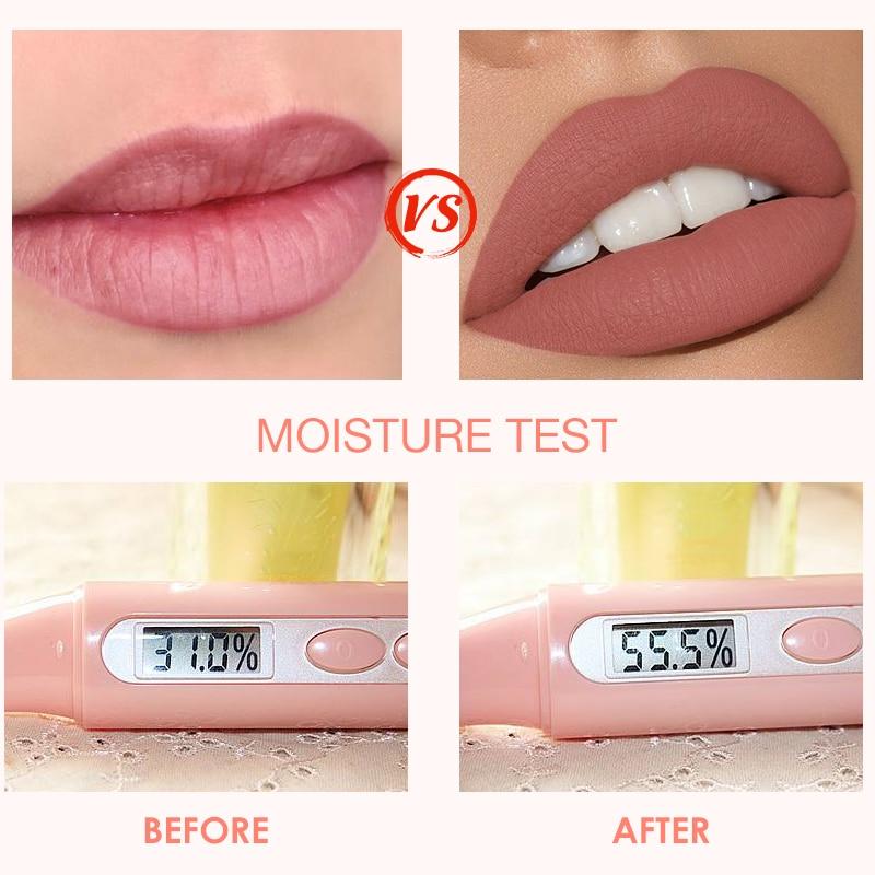 O.TWO.O Liquid Lipstick Matte Lip Gloss Cosmetic Lightweight Lip Glaze Long Lasting Lip Tint  Waterproof 12 Color Lips Makeup 3