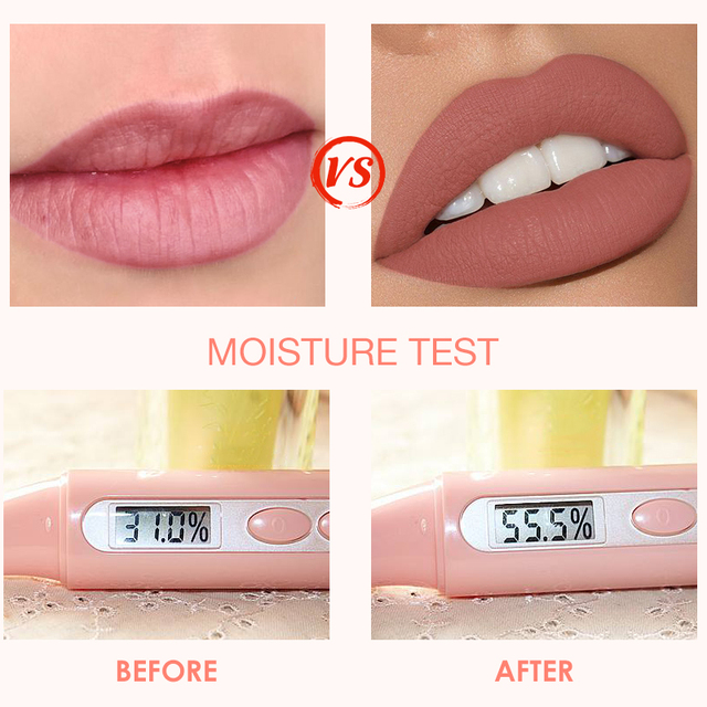 Liquid Lipstick Matte Lip Gloss Cosmetic Lightweight Lip Glaze Long Lasting  3