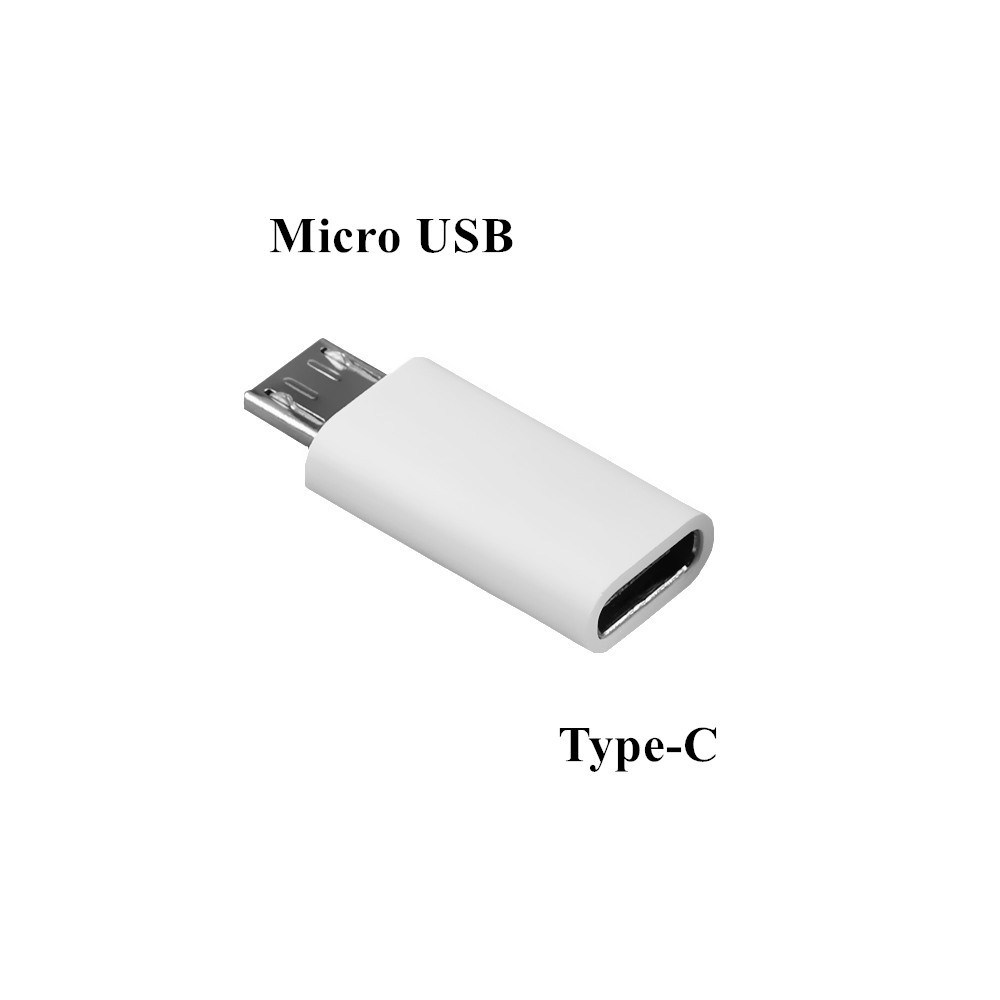 Type-c Female To Micro USB Male Converter Android Phone Cable Adapter USB-C Charger Connector For Xiaomi Mi 5 Huawei P9