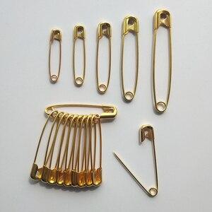 12 шт. высококачественные безопасные булавки, зажим для бумаги, инструменты для шитья своими руками, золотые, серебряные металлические иглы, большая безопасная булавка, брошь, аксессуары LFR06|Булавки и игольницы|   | АлиЭкспресс