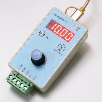Ręczny regulowany prąd napięciowy symulator analogowy 0-10V 2-10V 0-20mA 4-20mA źródło sygnału Generator sygnału wyjściowego tanie i dobre opinie OOTDTY CN (pochodzenie) Elektryczne 2 9 Cali i Pod Signal Generator