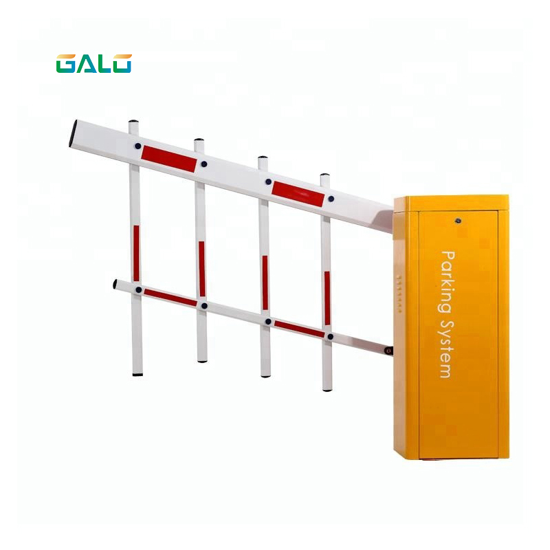 10 Million Cycle DC Servo Torque Motor Boom Barrier Gate  Heavy Duty Automatic Boom Barrier Gate Price For Vehicle Access Gate B